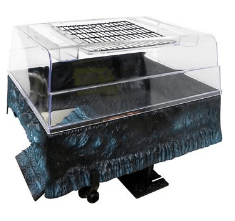turtle topper for basking platform